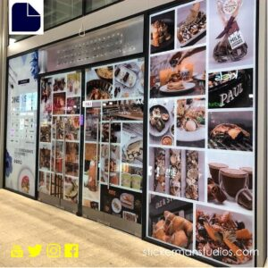 business branding window graphics guildford